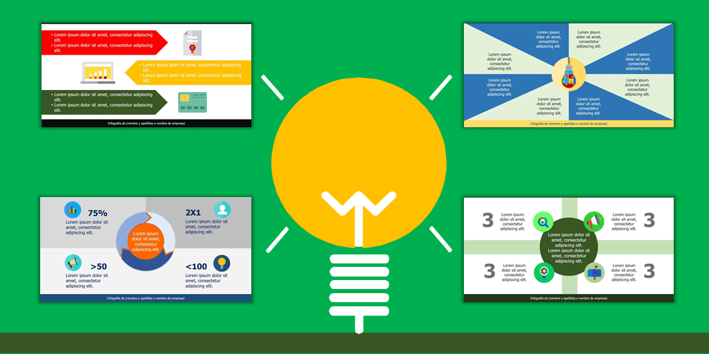 Ejemplos de Infografías Fáciles de Hacer