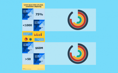 Infografías con Gráficas: Cómo usarlas y Plantillas PPT Ejemplos
