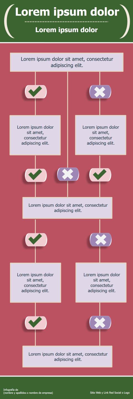 Infografías Ejemplos de Plantillas Creativas