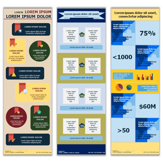 Ejemplos de infografías con recomendaciones