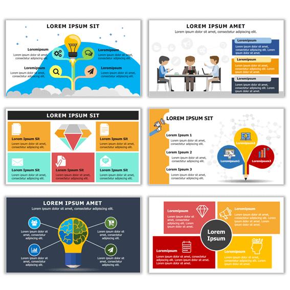 Formas de hacer las mejores infografías con plantillas ppt