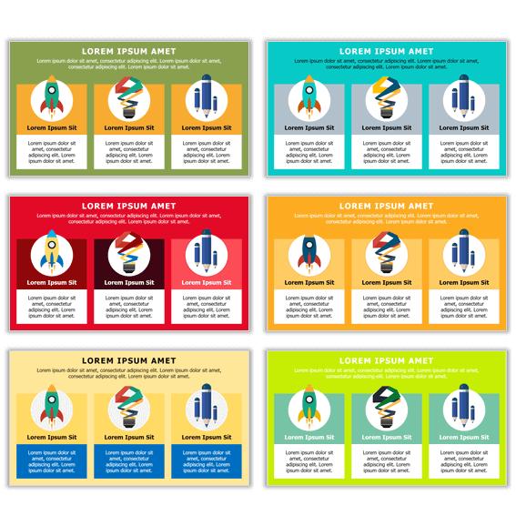 Pasos para diseñar una buena infografía con crear combinaciones de colores