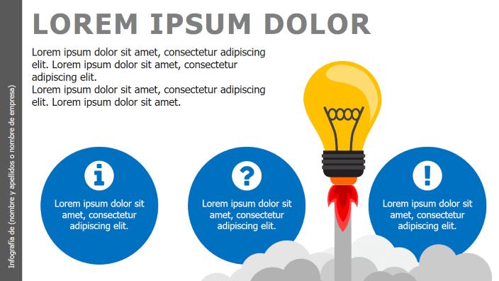 Infografías creativas power point para presentaciones