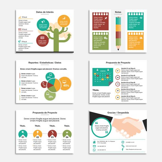 Presentaciones para presentar una propuestas de negocio