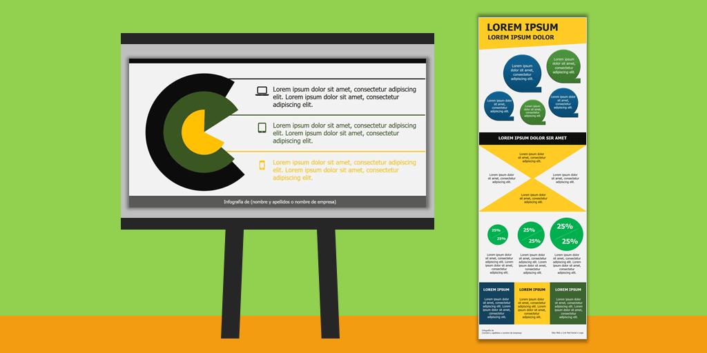 Tipos de Infografías explicadas con ejemplos plantillas